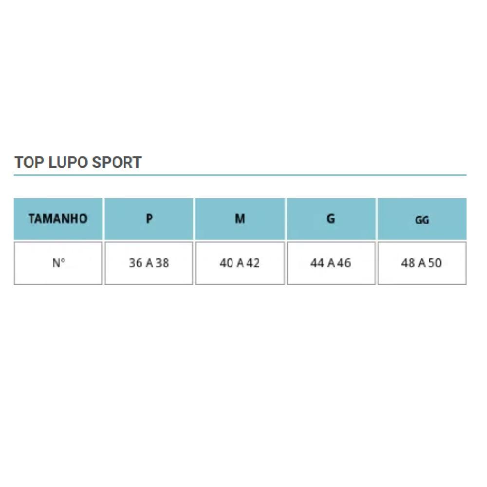 Top Lupo Challenge VB - 71407 - Preto