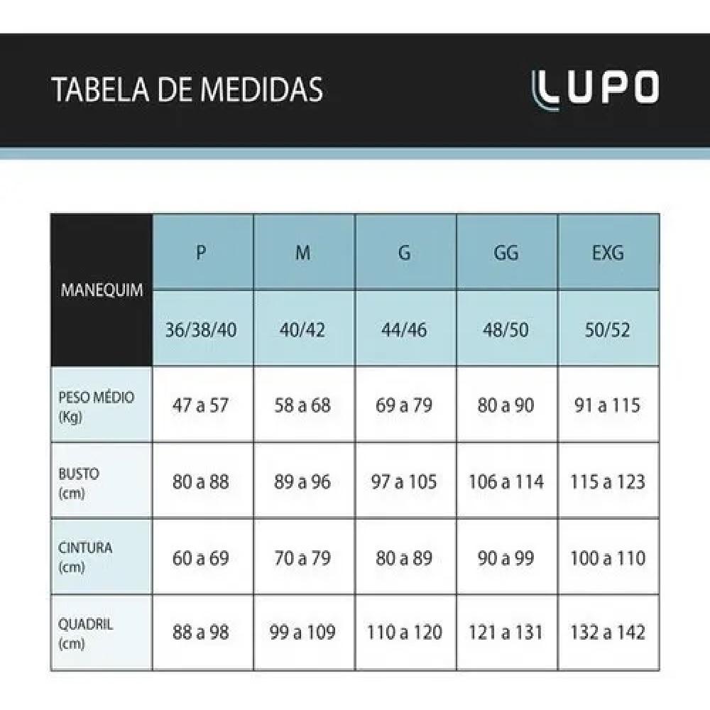 Top Lupo Seamless Contour - Azul