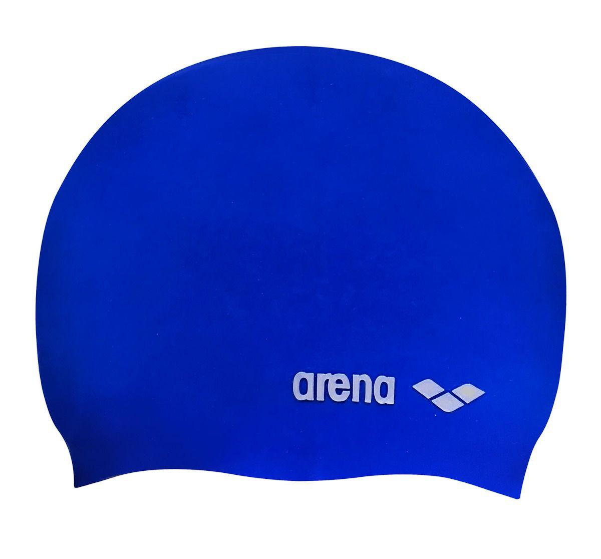 6371521dc Touca Arena Classic Silicone Adulto - Azul - Titanes Esportes