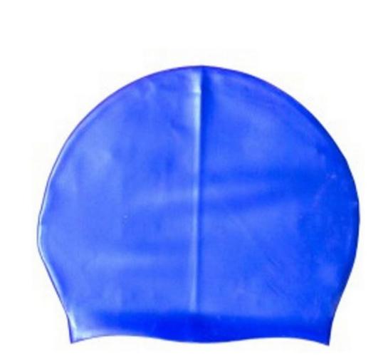 TOUCA NATAÇÃO POKER LIGHT SILICONE Azul