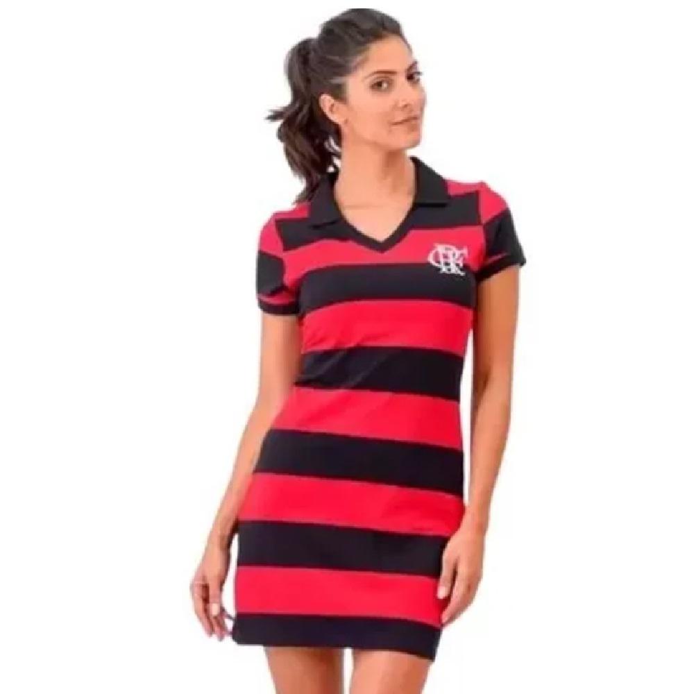 Vestido Braziline Flamengo Milly Feminino