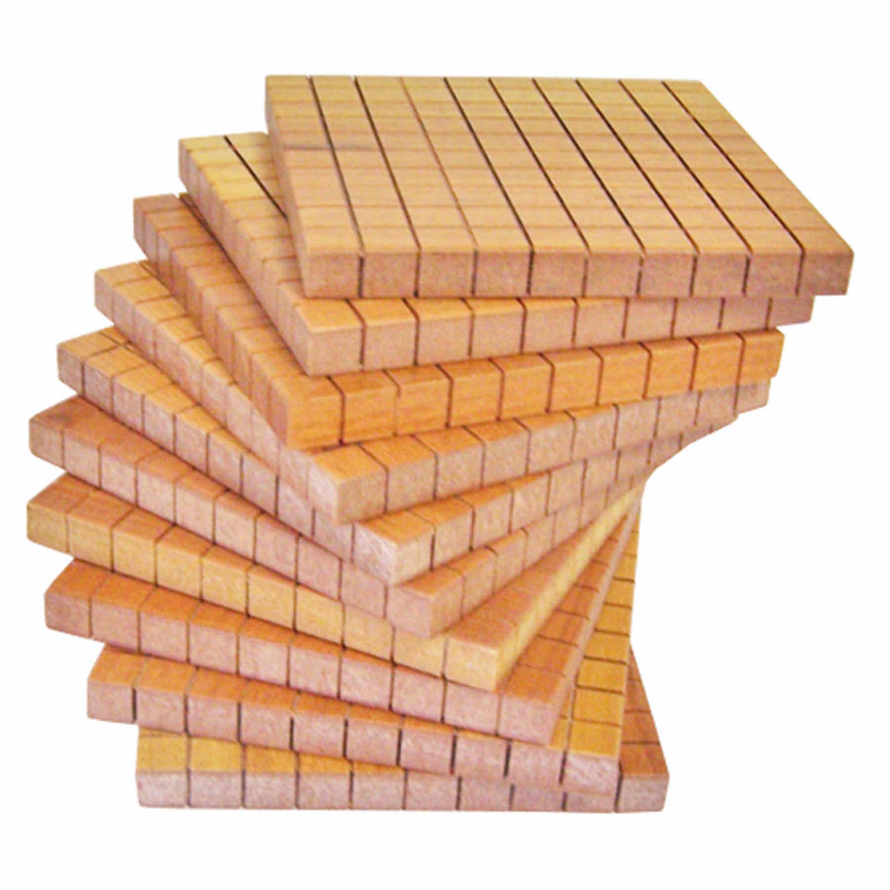 10 Placas da Centena de Material Dourado