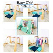 Baby Gym Montessori Kit 5 em 1