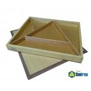 Caixa de Colagem de Triângulos