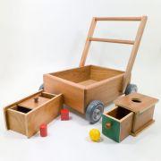 Kit Montessoriano Olho Mão - 1 Ano