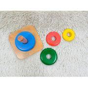 Montessori Anéis com Gradação