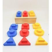 Montessori Blocos Lógicos
