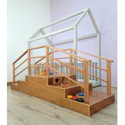Montessori Escada para Bebê