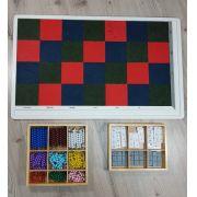 Quadro Xadrez Montessori
