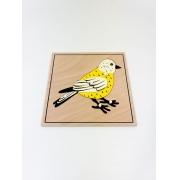 Quebra Cabeça de Animais Pássaro