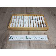 Terceiro Alfabetário Montessori