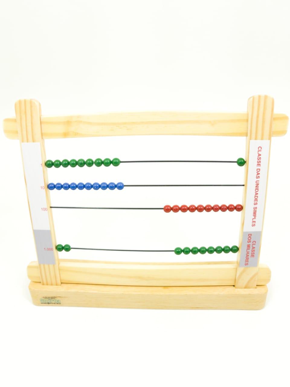 Ábaco Pequeno Montessori