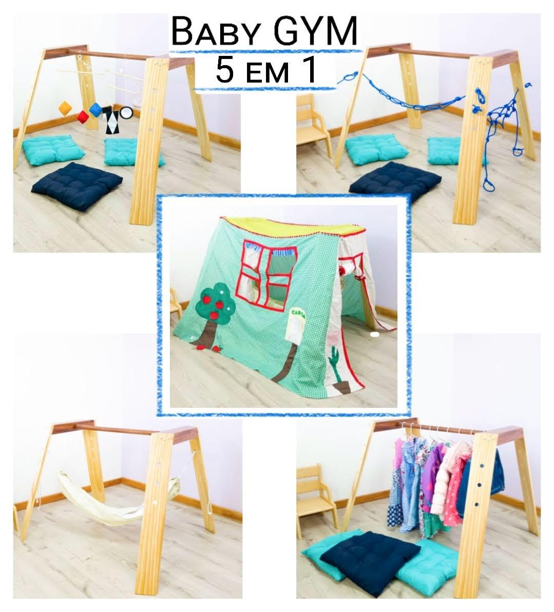 Baby Gym Montessori Kit 5 em 1