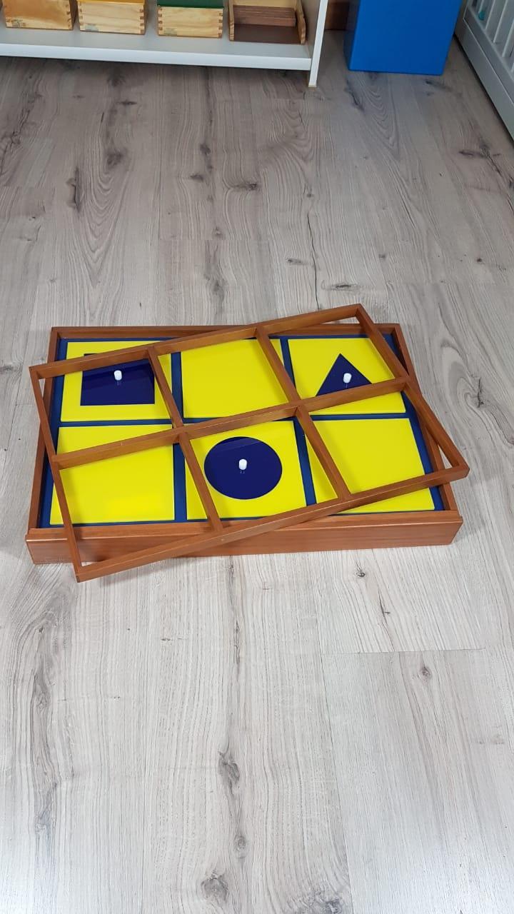 Bandeja de Apresentação das Figuras Geométricas