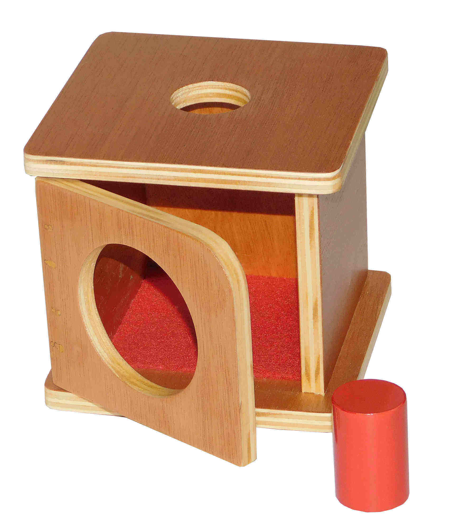 Montessori Caixa Abertura Frontal