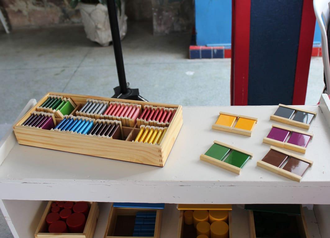 Caixa de Cores Montessori - 32 Pares