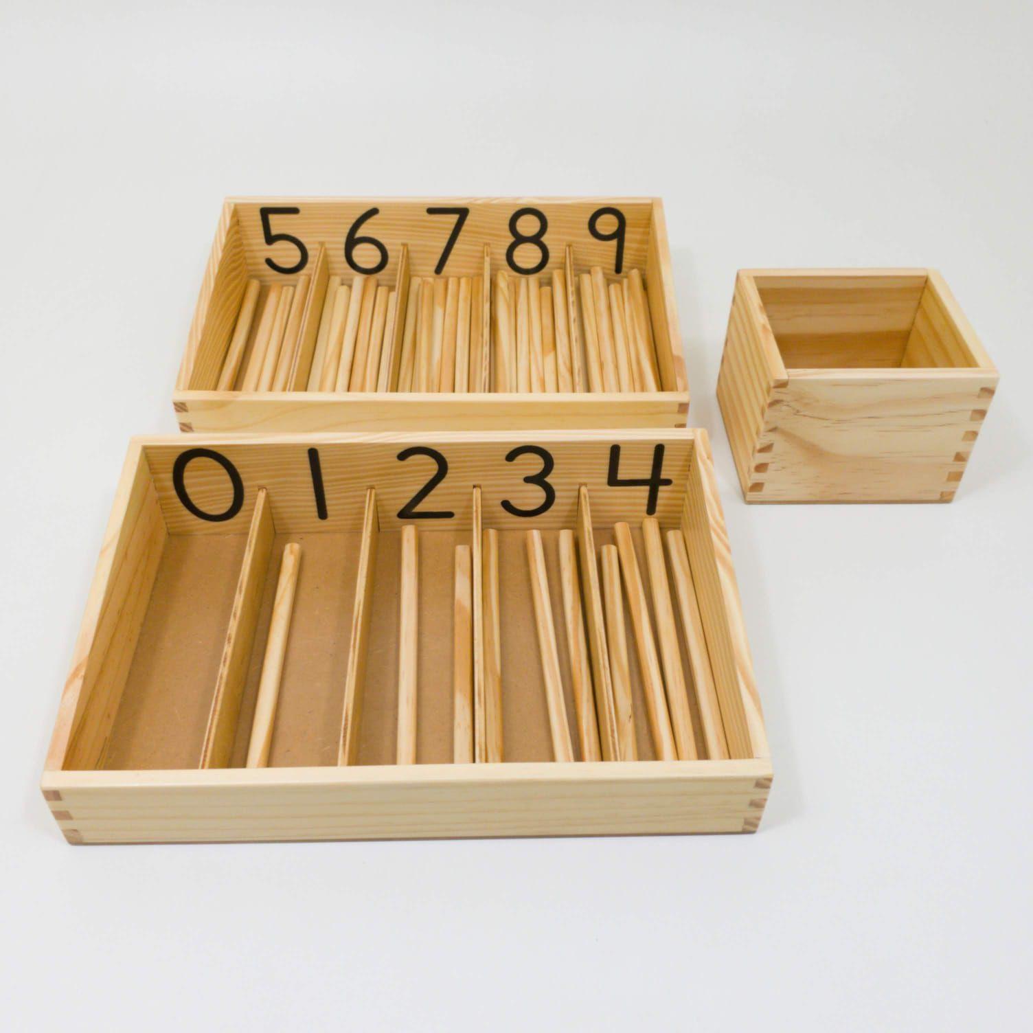 Caixa dos Fusos modelo bastão