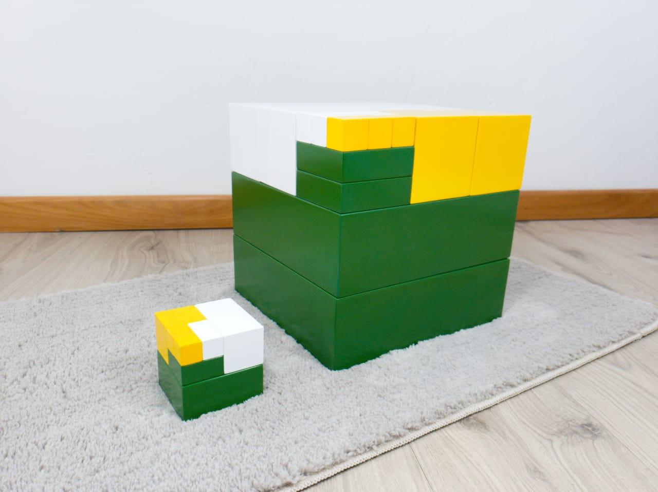 Cubo da Potência - Dois e Três