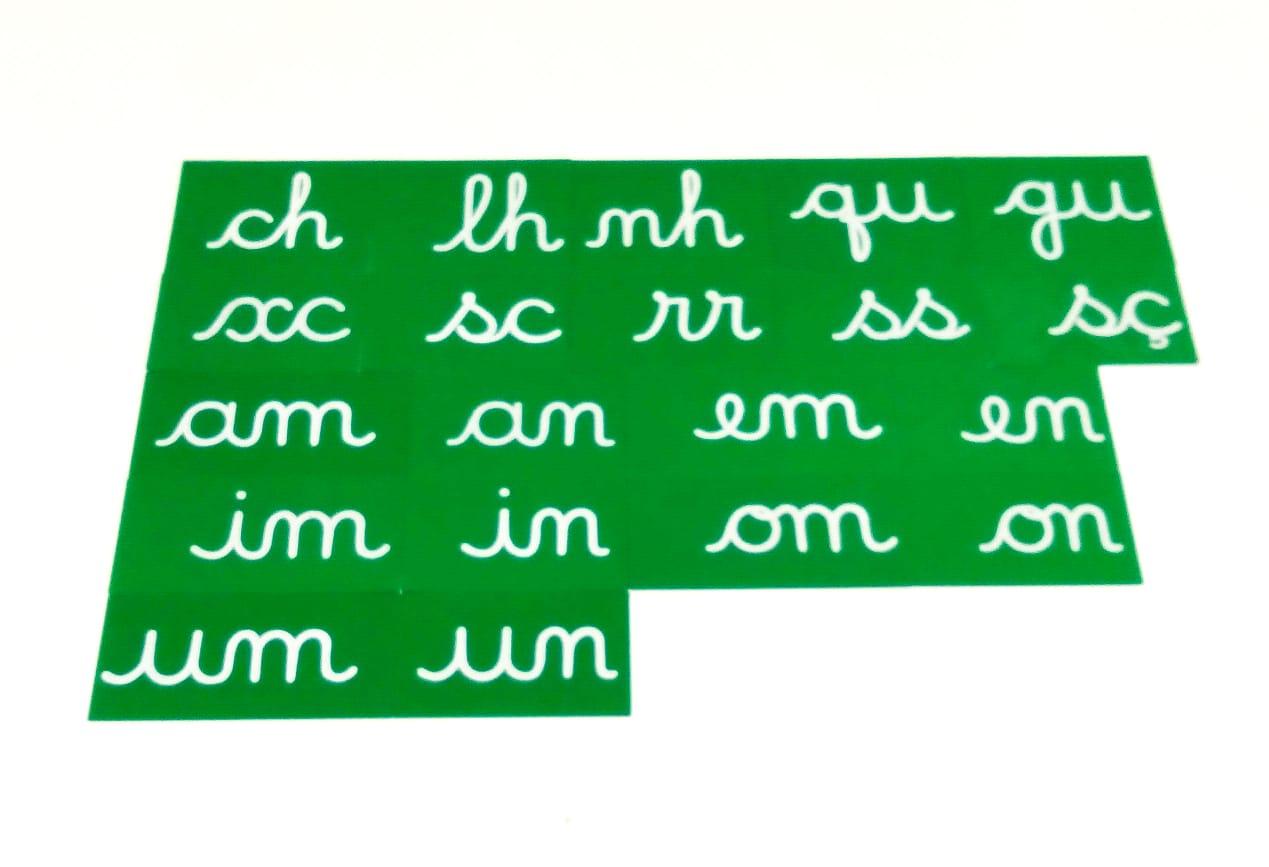 Dígrafos em Lixa
