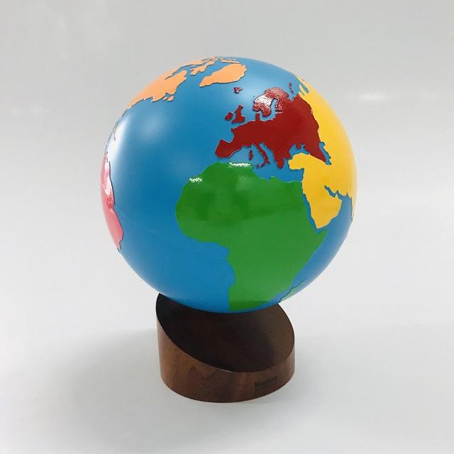 Globo dos Continentes
