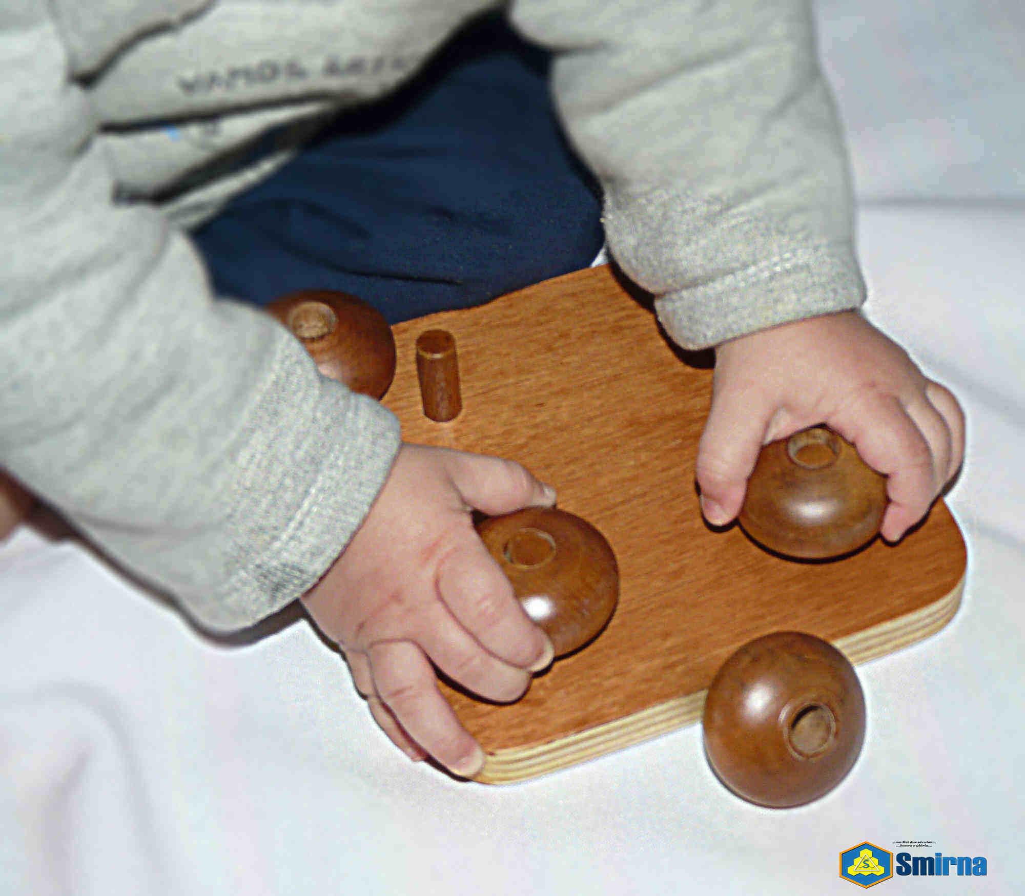 Montessori Elipsóides com Haste