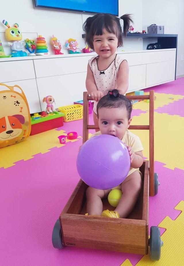 Kit Bebê 6 meses + Carrinho