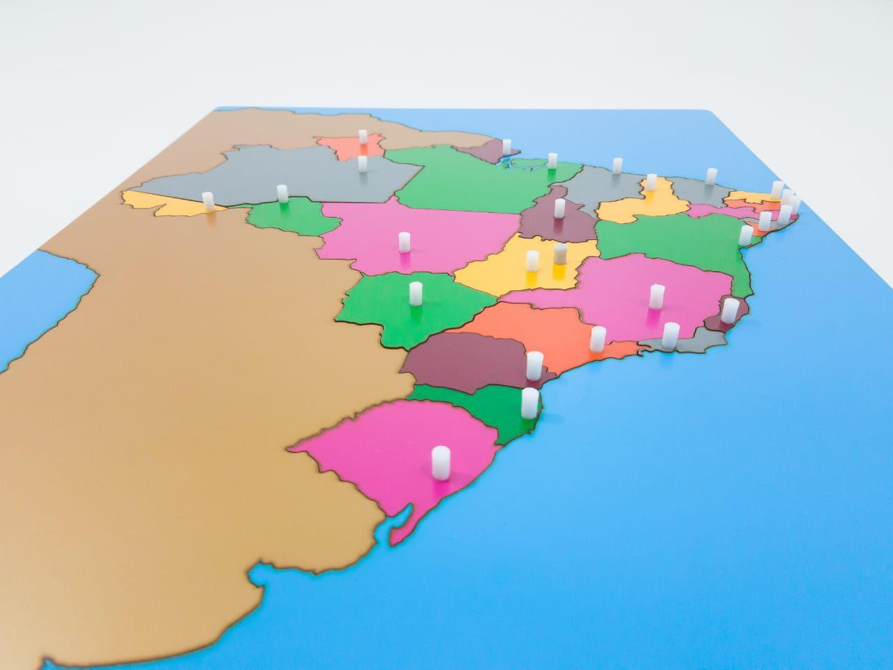 Mapa dos Estados do Brasil