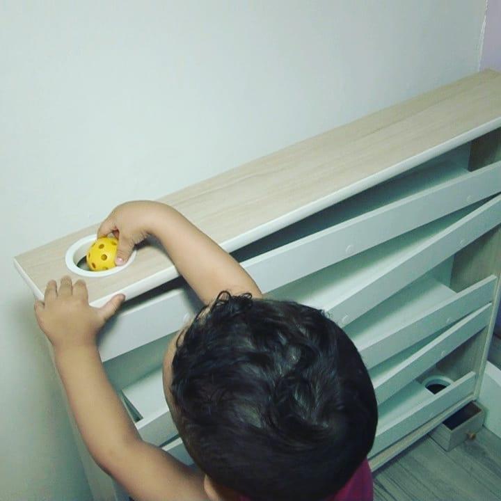 Montessori Bola com Rampas