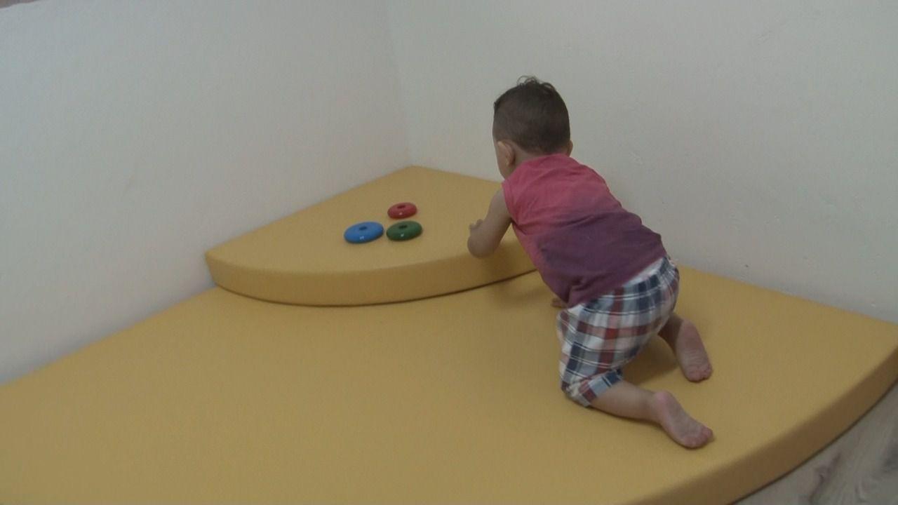 Montessori Plataforma para Bebê