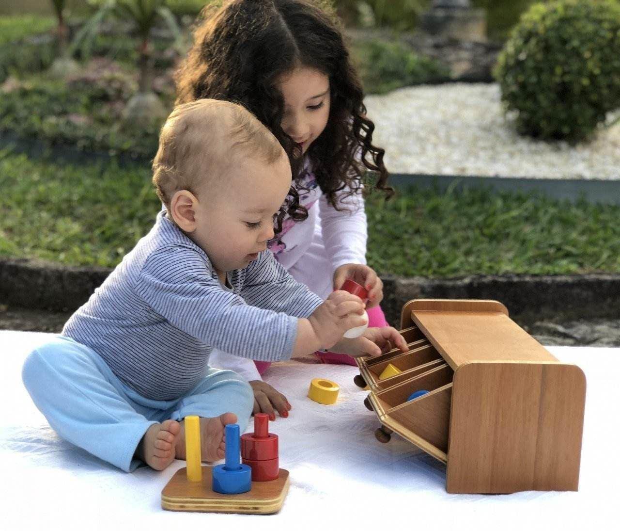 Montessori Pinos Coloridos