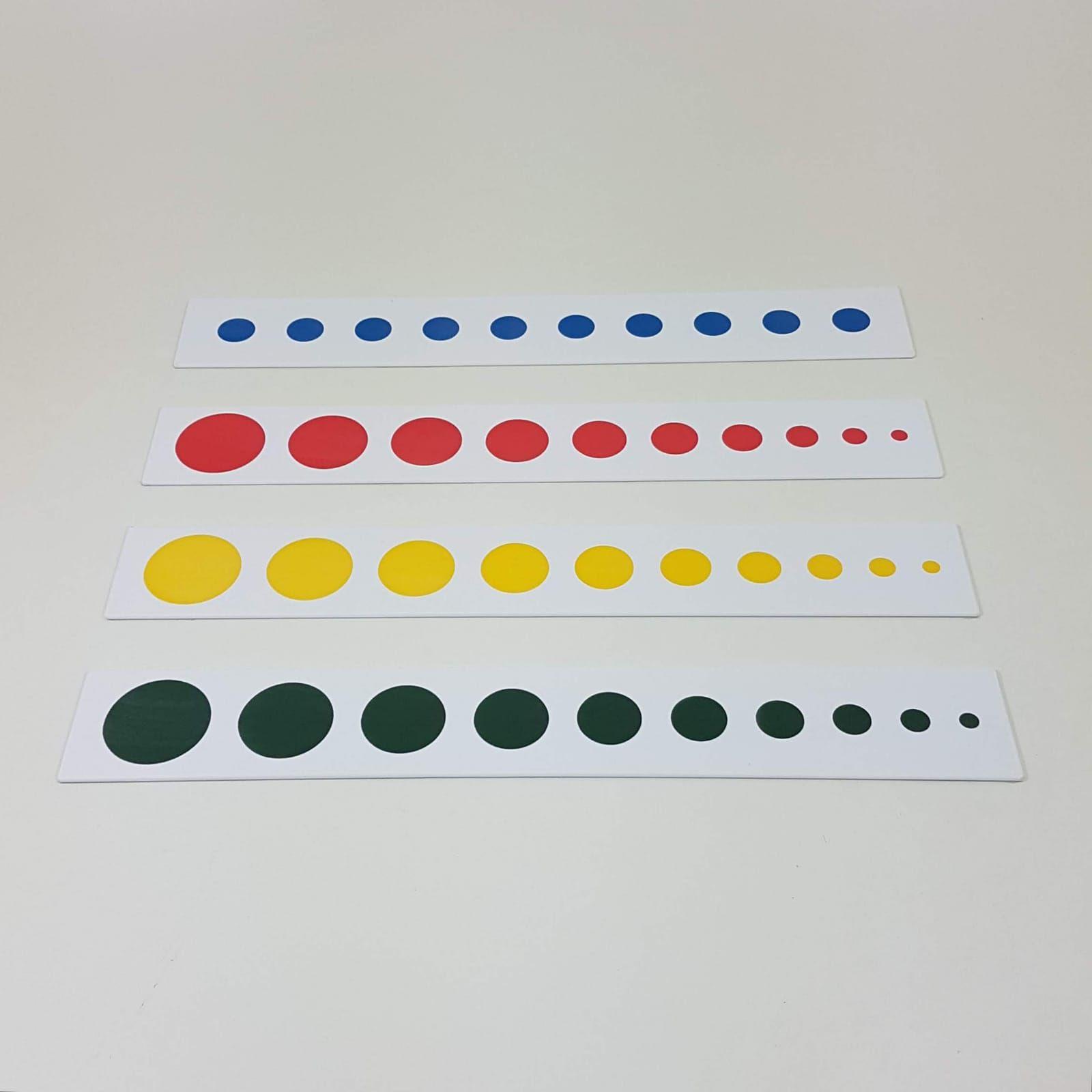 Projeção dos Cilindros Coloridos