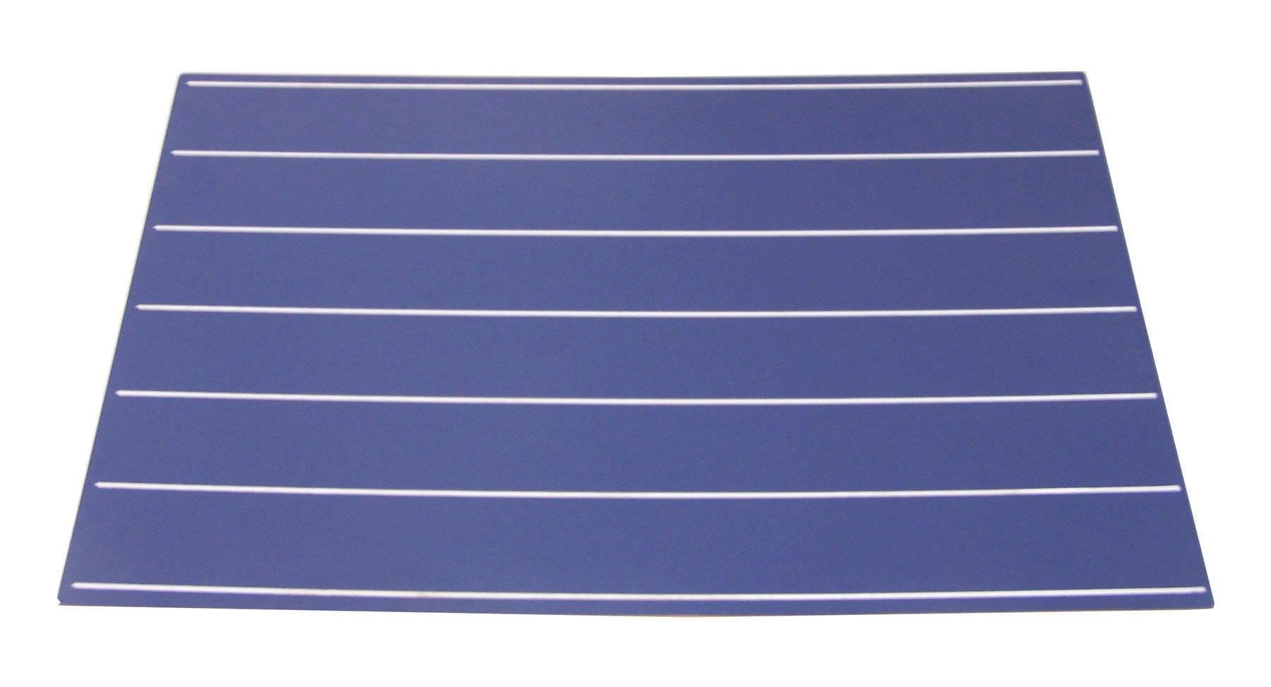 Quadro Azul com Linhas