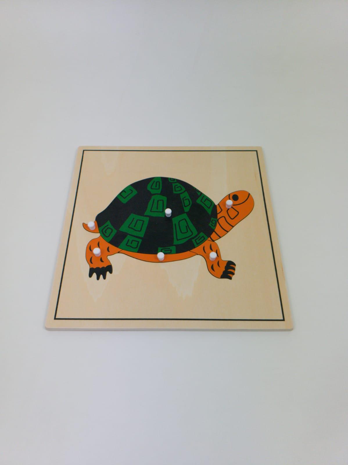 Quebra Cabeça de Animais Tartaruga