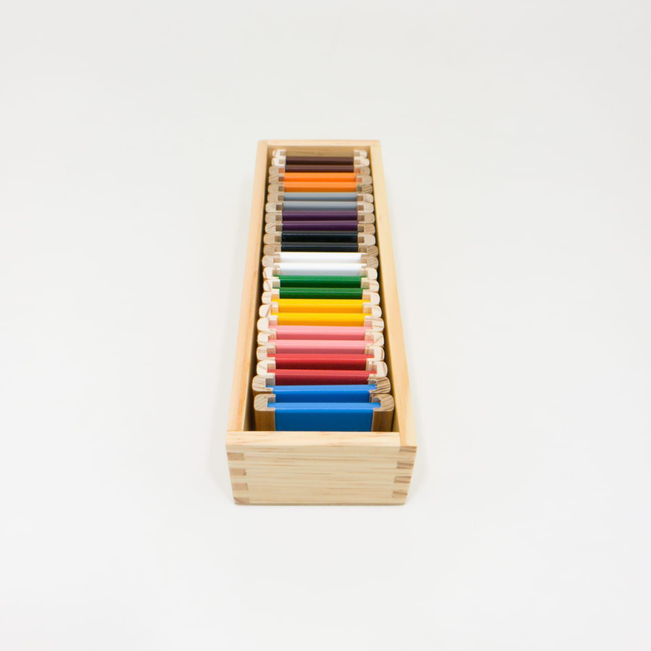 Segunda Caixa de Cores Montessori