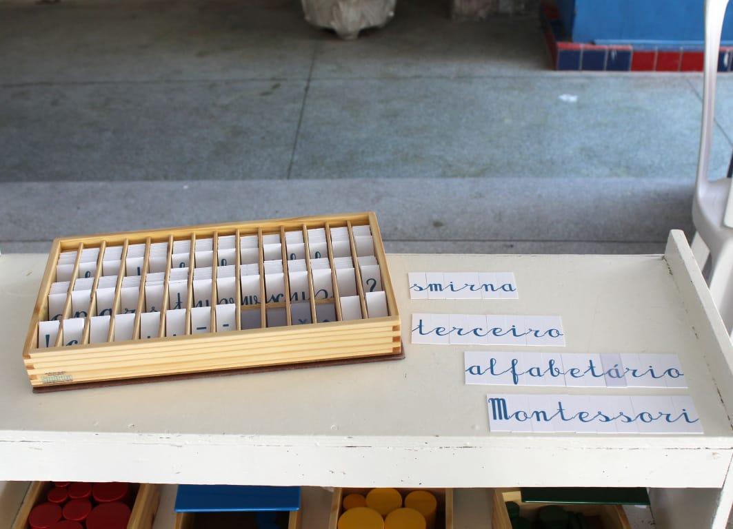 Terceiro Alfabetário 4 caixas