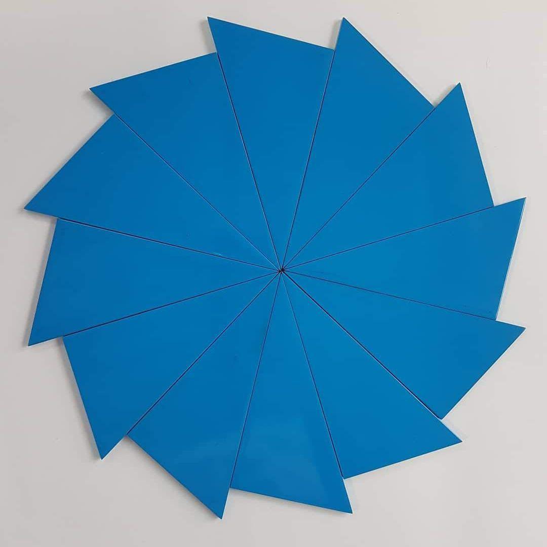 Triângulos Construtores Azuis