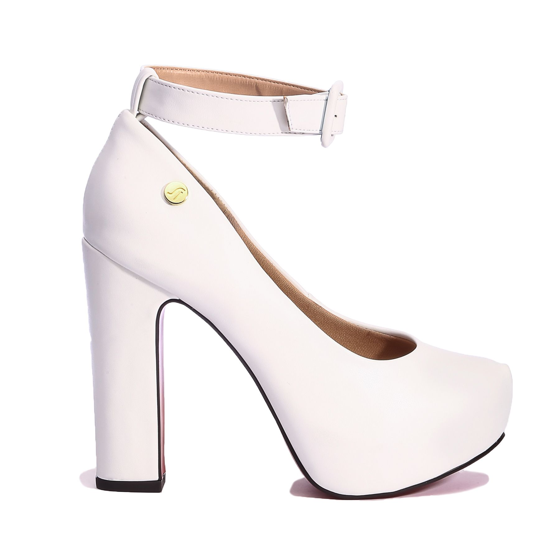 24807939f7 Página inicial Sapatos. FOTOS. SAPATO FEMININO NAVIO SALTO BLOCO ALTO MEIA  PATA SOLA VERMELHA LASENNA REF:9463
