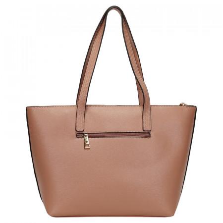 BOLSA SHOPPING BAG  MONOCOLOR ROSE REF:45288R