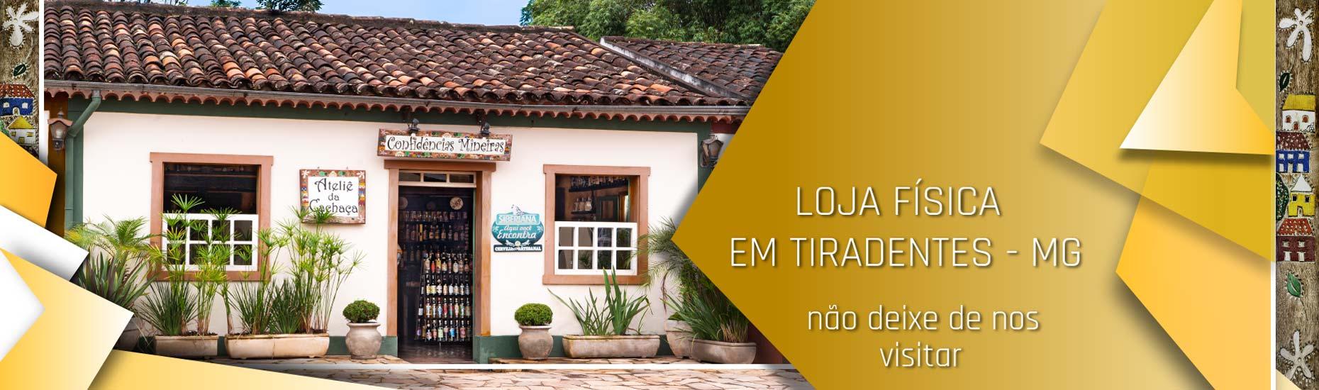 Loja física em Tiradentes, Minas Gerais não deixe de nos visitar