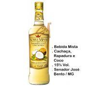 Bebida Mista Rapadura e Coco Com Cachaça Nobre Minas 670 ml (Sen. José Bento - MG)