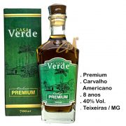 Cachaça Casa Verde Premium 8 anos 700 ml (Teixeiras - MG)