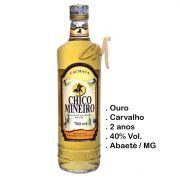 Cachaça Chico Mineiro Ouro 700 ml (Abaeté - MG)