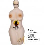 Cachaça Chico Mineiro Ouro Louça Modelo Mulher 700 ml (Abaeté - MG)