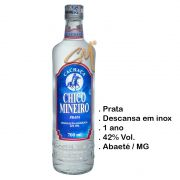 Cachaça Chico Mineiro Prata 700 ml (Abaeté - MG)