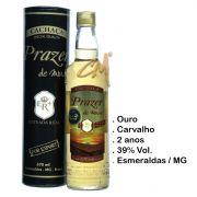 Cachaça Prazer de Minas Ouro 700 ml (Esmeraldas - MG)
