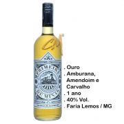 Cachaça Primeira de Minas Ouro 750 ml (Faria Lemos - MG)