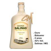 Cachaça Salinas Tradicional Louça Bege 700 ml (Salinas - MG)