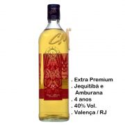 Cachaça Santa Rosa Extra Premium Intense IV Anos 750 ml (Valença - RJ)