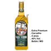 Cachaça Vale Verde Extra Premium Litro (Betim - MG)