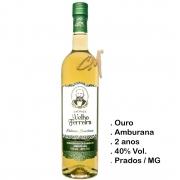 Cachaça Velho Ferreira Amburana 750 ml   (Prados - MG)